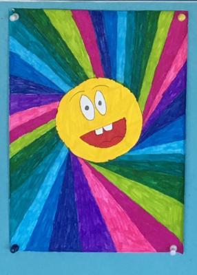 Foto zur Meldung: Kunst mit Kindern