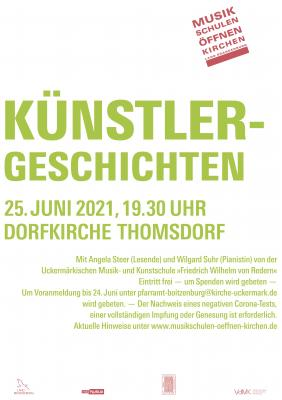 Konzert in Thomsdorf 25. Juni
