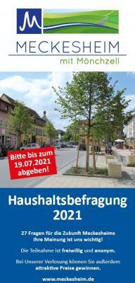 Gemeindeentwicklungskonzept - Haushaltsbefragung