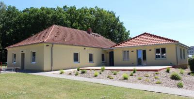 Sportgebäude nach Sanierung und Erweiterung zur Nutzung übergeben