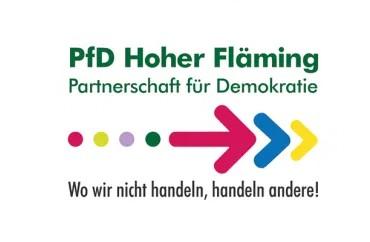 Logo PfD Hohe Fläming - wo wir nicht handeln, handeln andere!