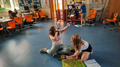 Fuldaer Schultheatertage 2021 an der Grundschule am Langenberg in Müs