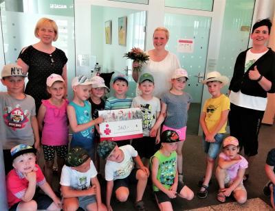 Sparkasse Niederlausitz unterstützt die Kitas der Gemeinde