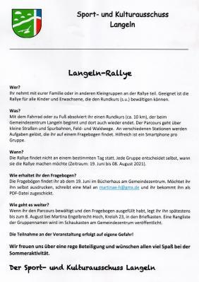 Langeln-Rallye