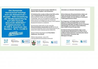 Foto zur Meldung: Die Gemeinde Herrischried beteiligt sich am Klimaschutz