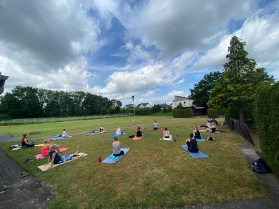 Yoga-Event zum World Yoga Day