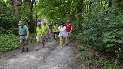 Foto zur Meldung: 3 Wanderwege in Kostebrau eingeweiht