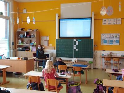 Grundschule Grasleben ist spitze bei der Digitalisierung