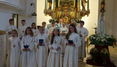 Foto zur Meldung: Fatima-Pilgermadonna zu Gast