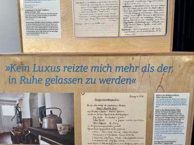 Vorschaubild zur Meldung: Wanderausstellung zum Leben von Günter de Bruyn