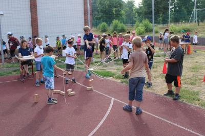 Foto zur Meldung: Sportfest 2021 – Spiel und Spaß im Team