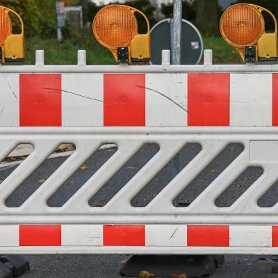 Thälmann -Straße gesperrt