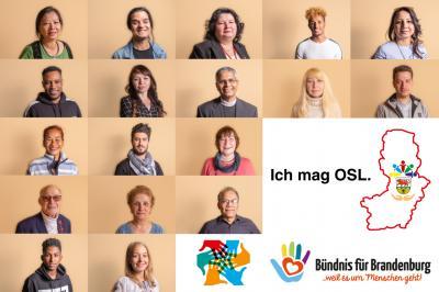 """Foto zur Meldung: Neue Ausstellung """"Ich mag OSL."""" im Foyer des Landtages eröffnet"""