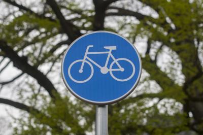 Foto zur Meldung: Fahrradfahrer im Fokus