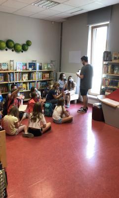 Bild der Meldung: Schüler-Bibliotheksrallye