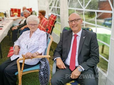 Bild der Meldung: Herta Mertens feierte ihren 100. Geburtstag