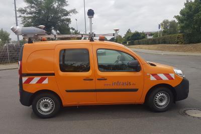 Foto zur Meldung: Messbildbefahrung im Stadtgebiet und den Ortsteilen zur Aktualisierung des Straßenkatasters