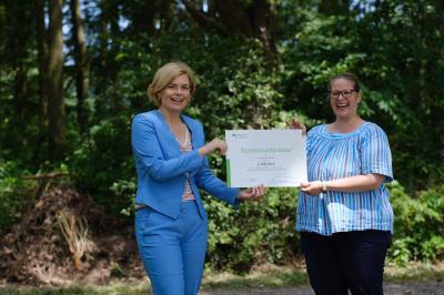 Bundeswaldprämie für Dalberg