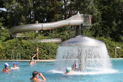 Foto zur Meldung: Freier Eintritt für alle bis 16 Jahren im Erlebnisbad