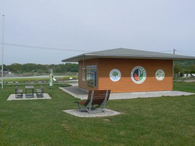 Informationspavillon in den Gemüsegärten geöffnet