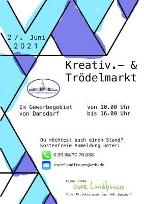 Foto zu Meldung: Am Sonntag Kreativ- und Trödelmarkt in Damsdorf