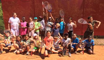 Klasse 3b - Tenniscamp - Juni 2021