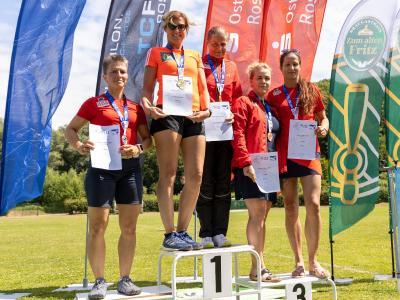 Foto zur Meldung: Landesmeisterschaften im Bahnlauf über 5000 und 10000 Meter  -   3 x Gold, 4 x Silber und 5 x Bronze gehen nach Laage.