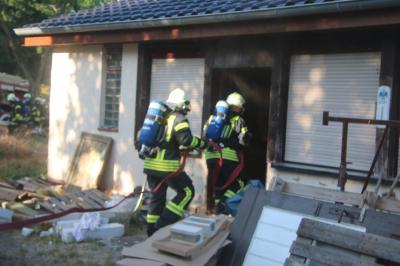 Foto zu Meldung: Eigenheimbrand in Damsdorf