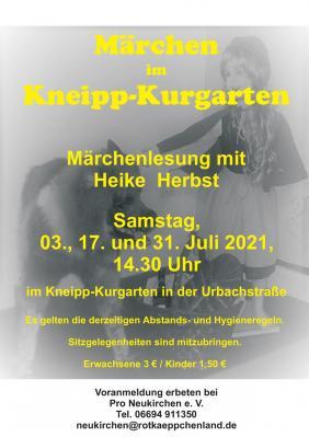 Märchen im Kneipp-Kurgarten