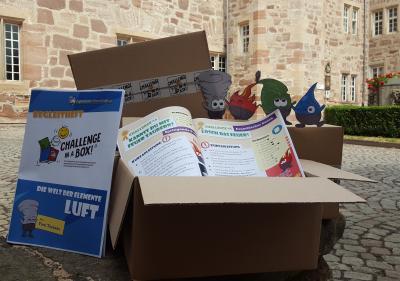 Challenge in a box - Sommerferienspaß