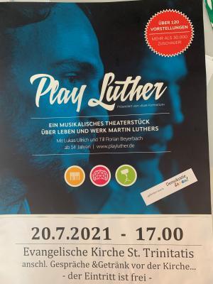 "Foto zu Meldung: Theateraufführung ""Play Luther"""