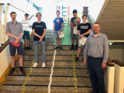 Preisverleihung Robotikwettbewerb TUM 2021
