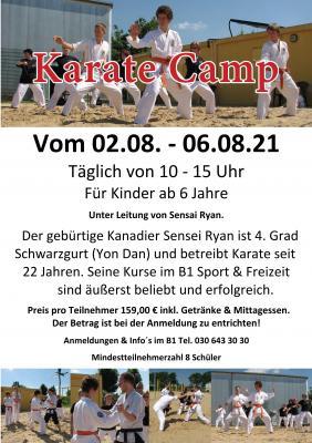 Karate Sommercamp