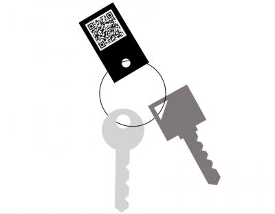 Schlüsselanhänger als analoges Gegenstück zur Luca-App - Kostenlos bei der Stadtverwaltung erhältlich