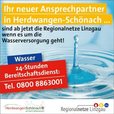 Regionalnetze Linzgau übernehmen technische Betriebsführung der Wasserversorgung