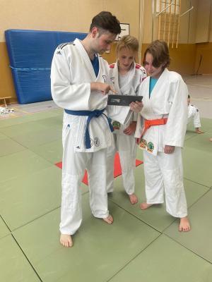 Foto zur Meldung: Judo startet durch – Analog und Digital
