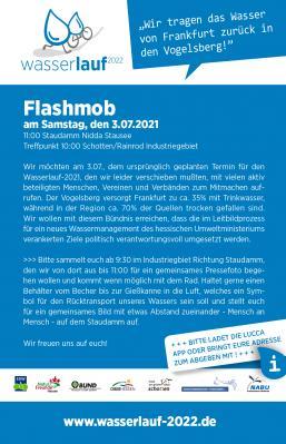 Flashmob - Wasserlauf 2021