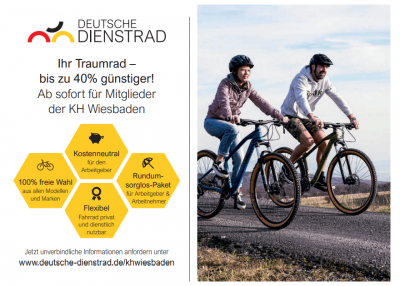 Vorschaubild der Meldung: Rahmenvertrag mit Deutsche Dienstrad