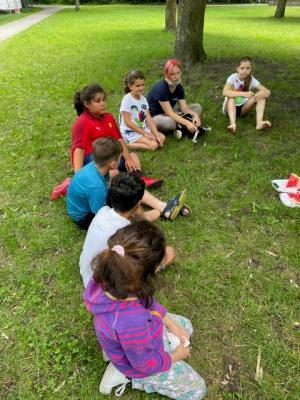Förderung von Ferienprogramme mit Lernangeboten - die IJN ist mit 30 Kindern dabei