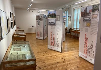 """Stadt Perleberg   Blick in die Sonderausstellung """"Stadt hat Recht"""" im Stadt- und Regionalmuseum Perleberg"""