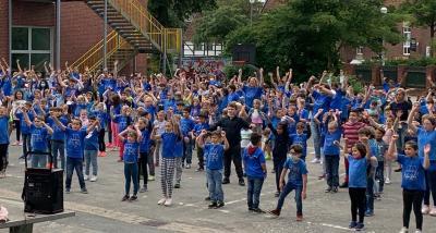Bild der Meldung: Flashmob zum Ferienstart