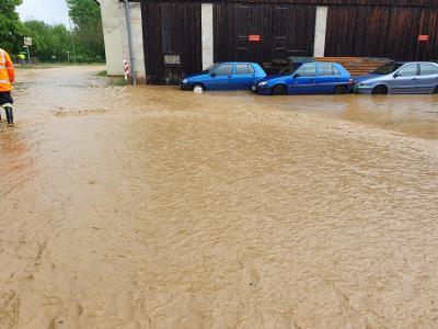 Vorschaubild der Meldung: Schaden durch Starkregenereignisse im Stadtgebiet Goldkronach?