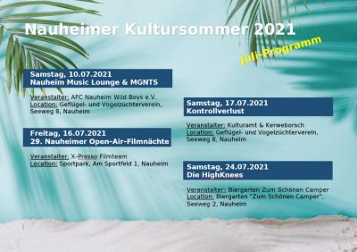 Foto zur Meldung: Nauheimer Kultursommer startet am 10. Juli