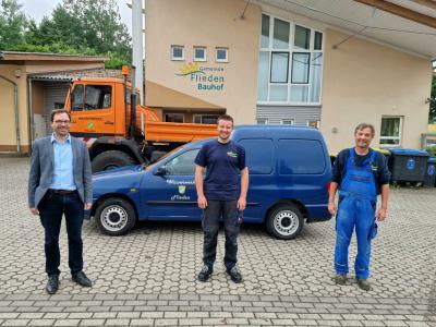 Neuer Mitarbeiter im Wasserwerk
