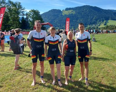 Foto zur Meldung: Triathlon: Kaiserwetter im Kaiserwinkl