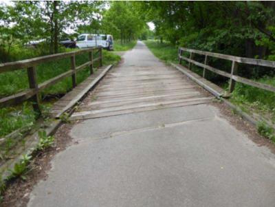 Foto zur Meldung: Brückenprüfung ergab Reduzierung der Traglasten