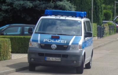 Die Verkehrspolizei zu Besuch im Kindergarten Pfarracker