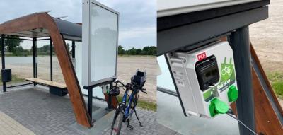 Öffentliche Ladestationen für E-Bikes