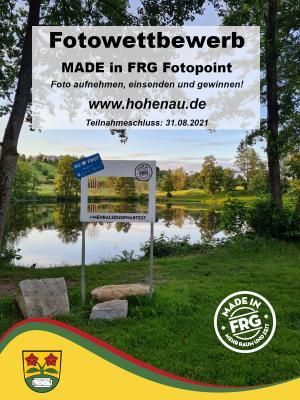Fotowettbewerb Naturbadeweiher Hohenau