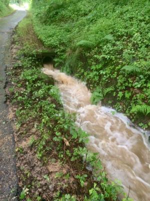 Merzhausen knapp an dritter Überschwemmungskatastrophe vorbeigeschrammt